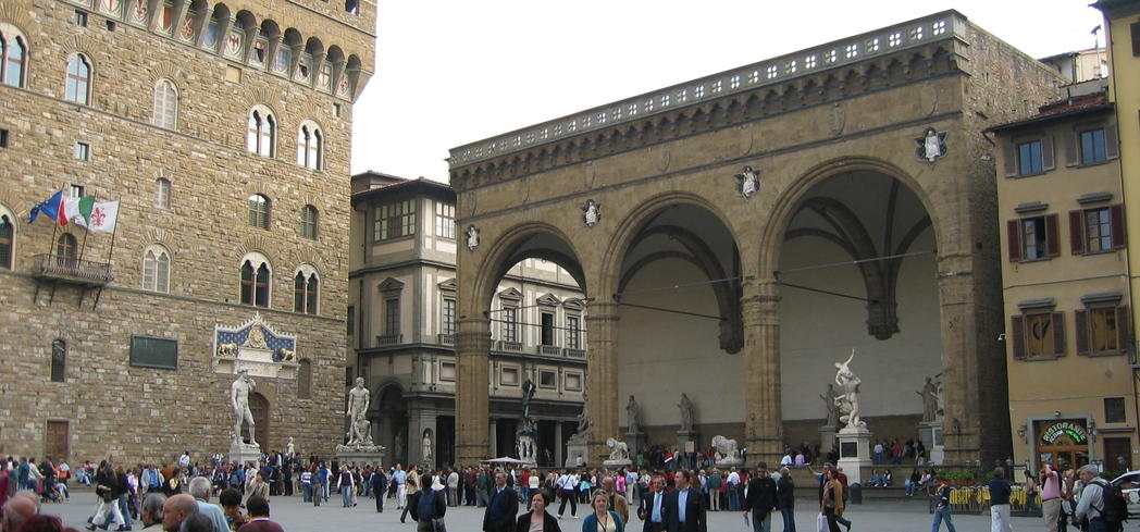 Walk the piazzas of Florence, Italy