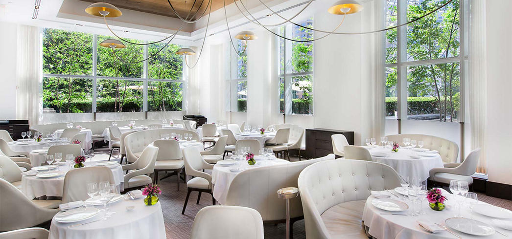 Jean-Georges dining room (Photo Credit: Francesco Tonelli)