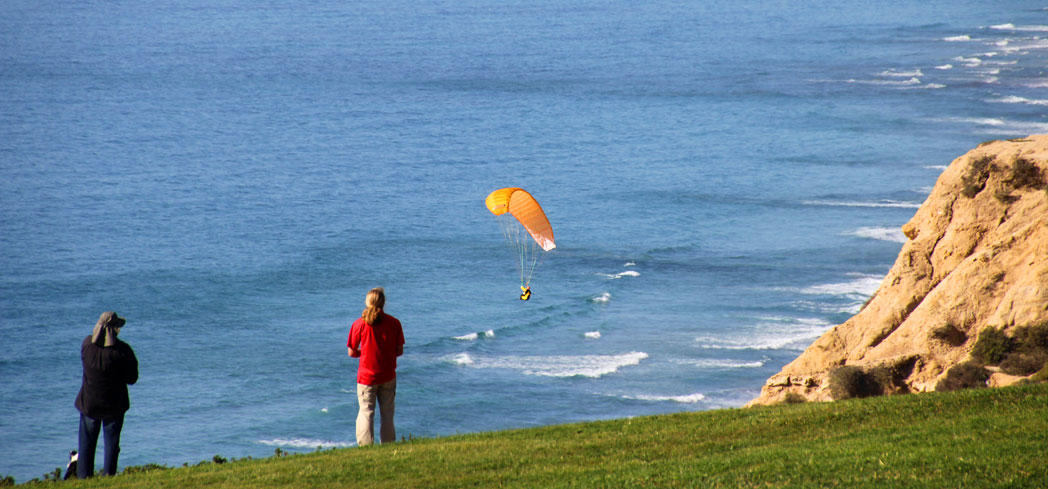 Go paragliding at Torrey Pines Gliderport, one of GAYOT's Top 10 Things to Do in La Jolla