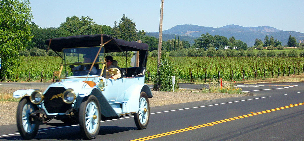 Tour the vineyards in Napa Valley, California