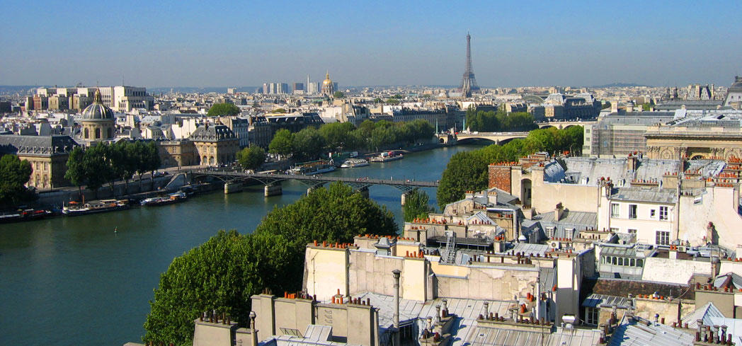 A view of Paris, France - the City of Light