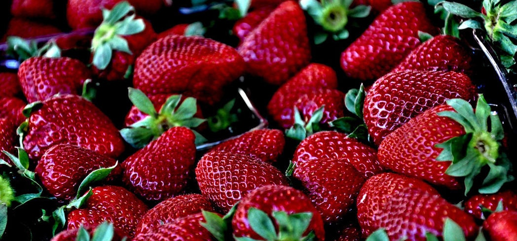Strawberries' folate, fiber and vitamin C also provide heart-protective benefits