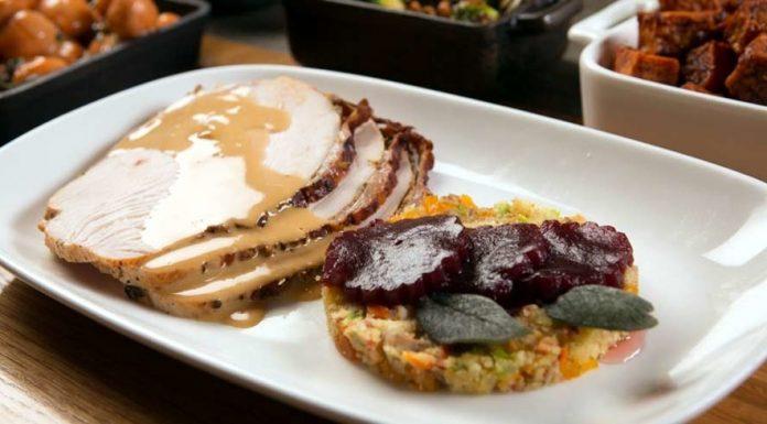 Thanksgiving turkey at CRUSH eat, drink, love in Las Vegas, NV (Photo credit: Jim Decker)