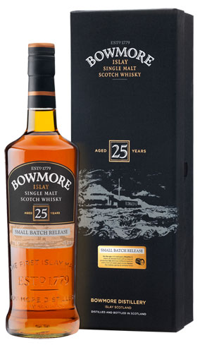 Bowmore 25 Year Old Single Malt Scotch Whisky