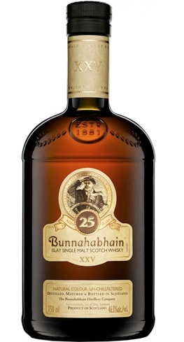 Bunnahabhain 25 Year Old Single Malt Scotch Whisky