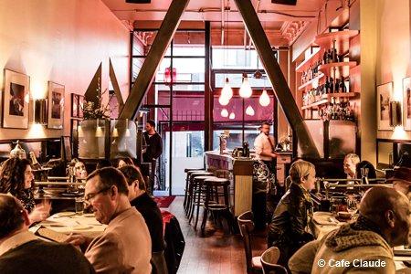 Cafe Claude, San Francisco