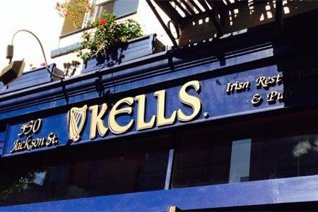 Kells Irish Restaurant & Pub, San Francisco