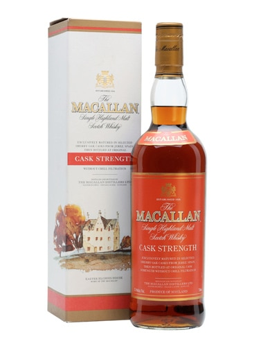 The Macallan Cask Strength Single Malt Scotch Whisky