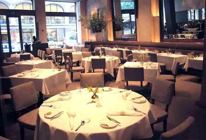 Michael Mina restaurant in San Francisco, CA