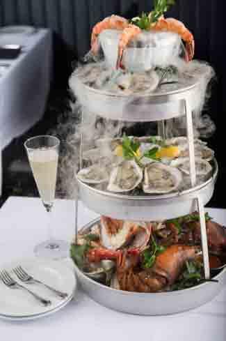 Ocean Prime Beverly Hills Seafood Platter