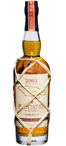Plantation Rum Old Reserve 2001 has notes of pineapple and pear