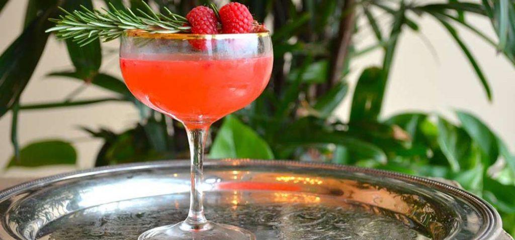 Raspberry Ramble Cocktail