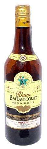 Rhum Barbancourt Special Reserve Five Star is distilled from fresh sugarcane juice