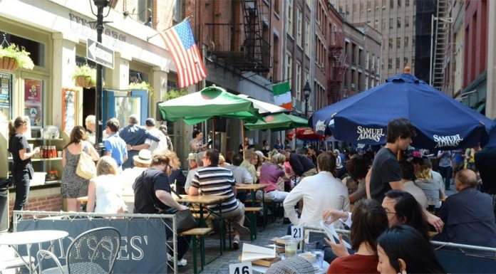 St. Patrick's Day Restaurants NYC