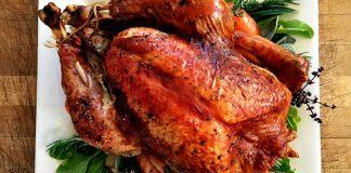 Thanksgiving turkey at Akasha (Photo courtesy of Akasha)