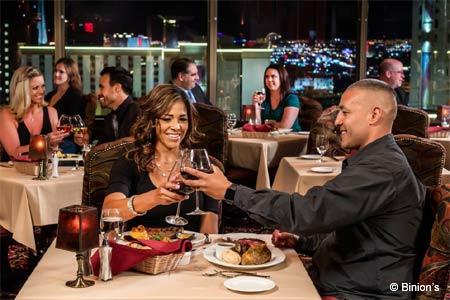 Top of Binion's Steakhouse, Las Vegas