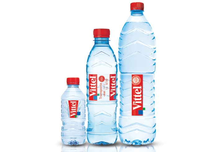 Evian is one of GAYOT's Best Bottled Waters.