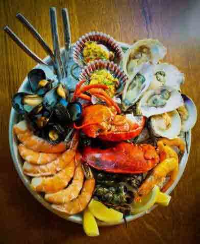The Grand shellfish platter at Water Grill