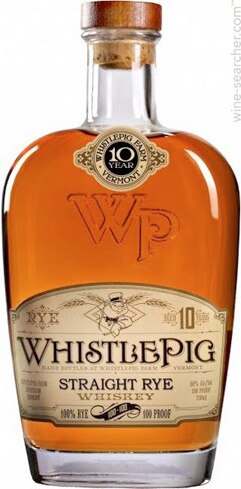 WhistlePig 10-Year Straight Rye Whiskey