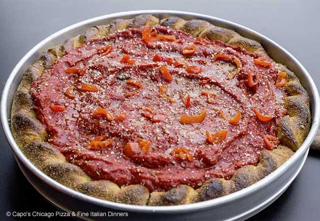 Capo's Chicago Pizza & Fine Italian Dinners, San Francisco