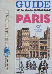 guide de paris julliard christian millau