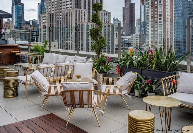 Monarch Rooftop Lounge, New York