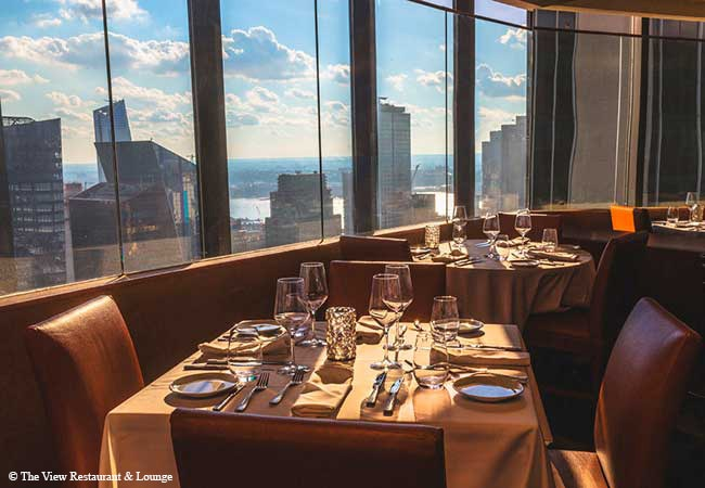 The View Restaurant & Lounge, New York