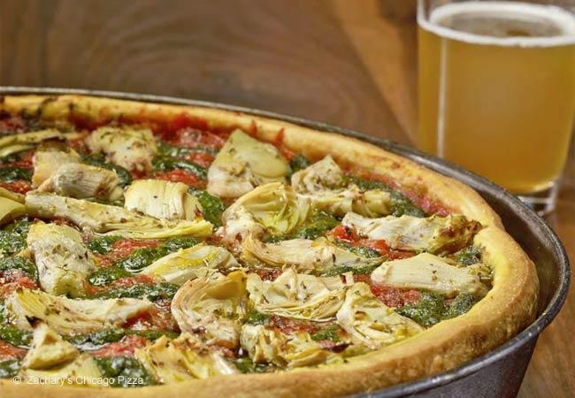Zachary's Chicago Pizza, Oakland