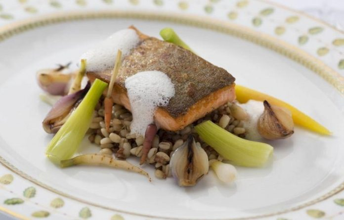 Arctic char - The Georgian Room
