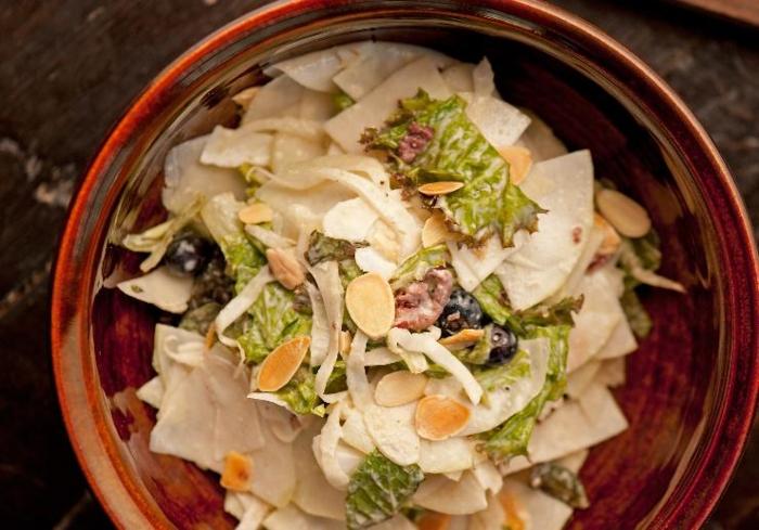 Butternut Squash & Kohlrabi Salad Recipe
