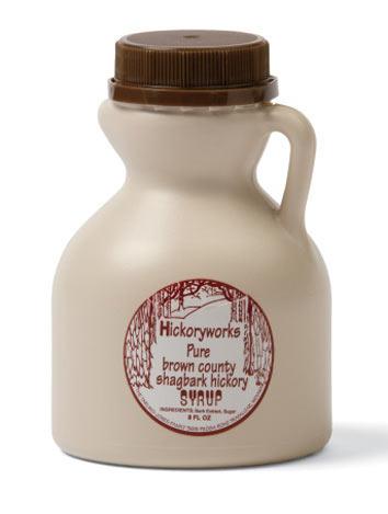 Hickoryworks Pure Brown County Shagbark Hickory Syrup
