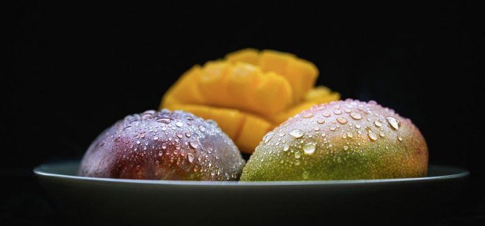 Ripe mangos hold the highest levels of beta carotene