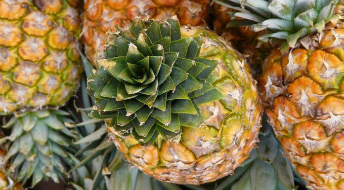 Pineapples contain high quantities of water-soluble antioxidants