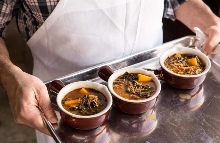 Pumpkin Broth with Fideos Recipe