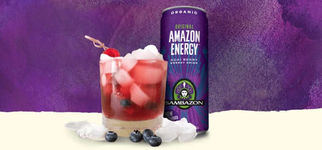 Sambazon Acai Berry Energy Drink