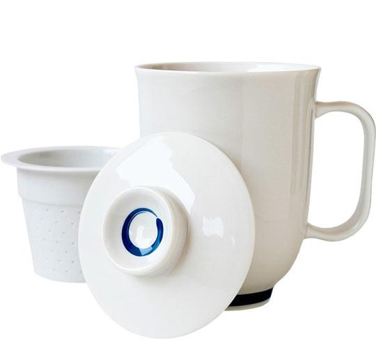 The Tea Spot Steeping Mug