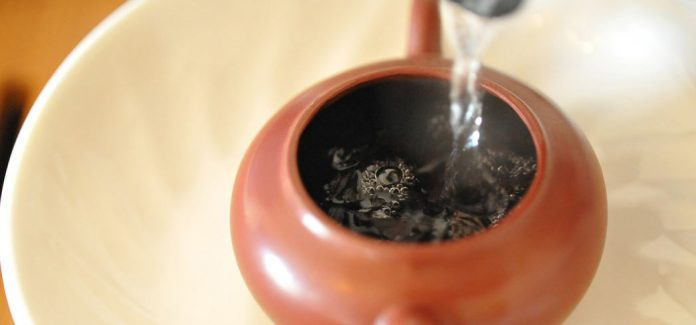 With a less oxidized tea, a lower temperature is more prone to provide a complex and full flavor