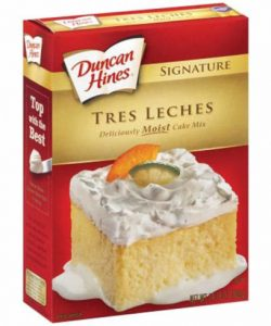 Tres Leches Cake Mix
