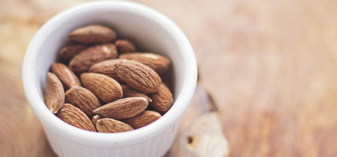 A daily ounce of almonds significantly lowers the body's LDL (