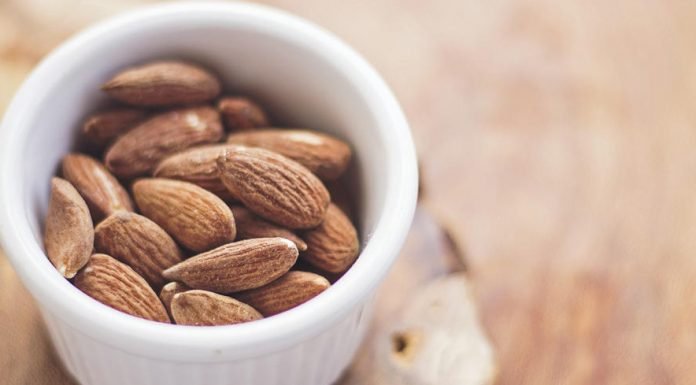 """A daily ounce of almonds significantly lowers the body's LDL (""""bad"""") cholesterol"""