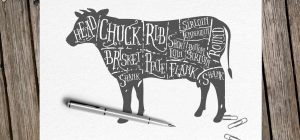 Learn about cuts of beef such as filet mignon and rib-eye steaks