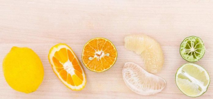 Along with vitamin C, citrus fruits are high in folate and potassium