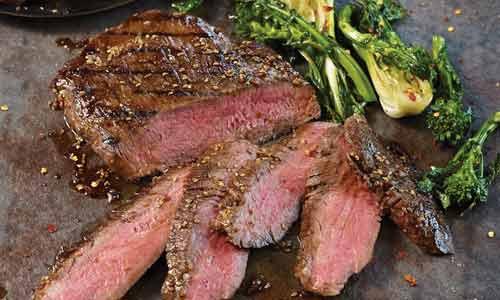 Hanger steak is also called hanging tenderloin