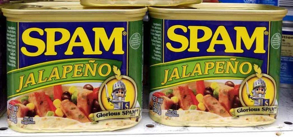 Spam Jalapeño