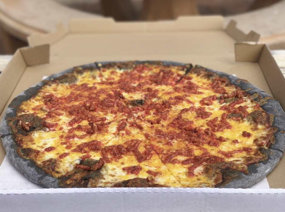 Mickey's Deli The Spicy Spooky Cheeto Pizza