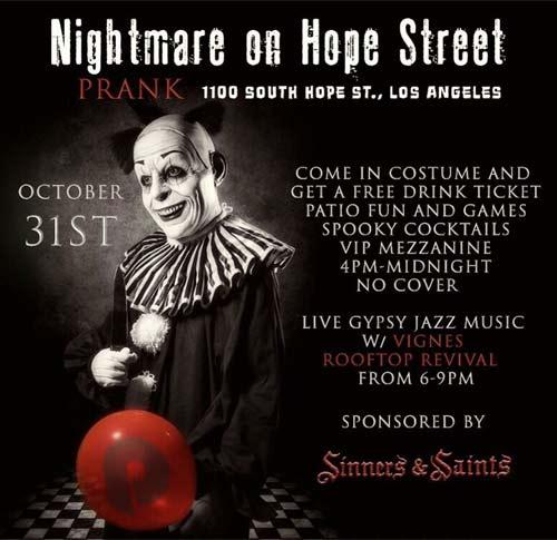Nightmare on Hope Street