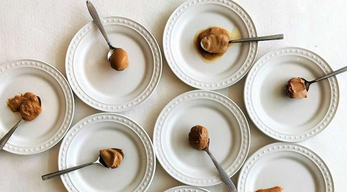GAYOT taste tests eight popular peanut butter brands to find the best tasting of them all.