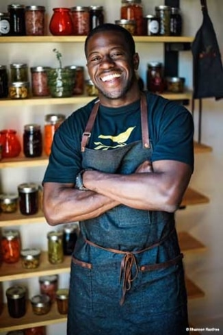Salare chef Edouardo Jordan