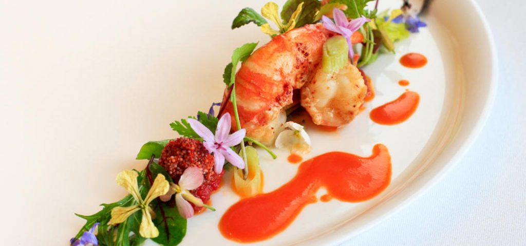 Prawns by chef Michael Cimarusti (Providence, Los Angeles)