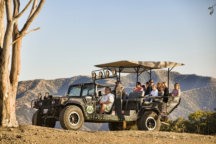Biofuel Hummer Tour Catalina Island